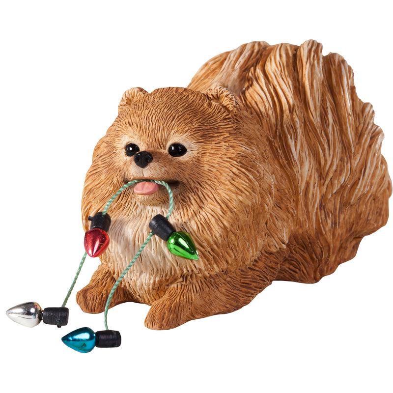 Sandicast Pomeranian Dog Ornament