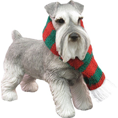 Sandicast Schnauzer Gray Dog Ornament