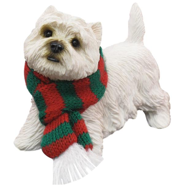 West Highland Terrier Dog Ornament