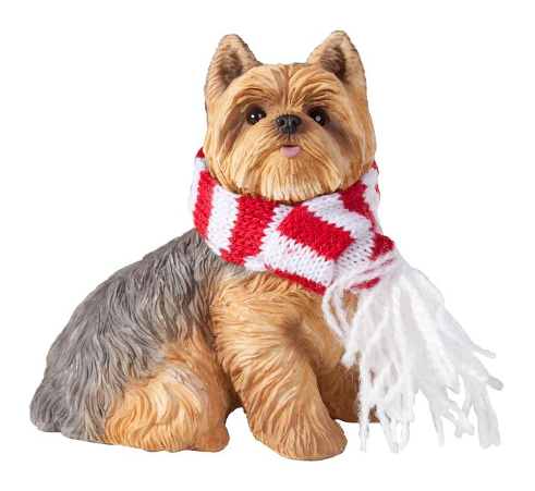 Yorkshire Terrier Dog Ornament