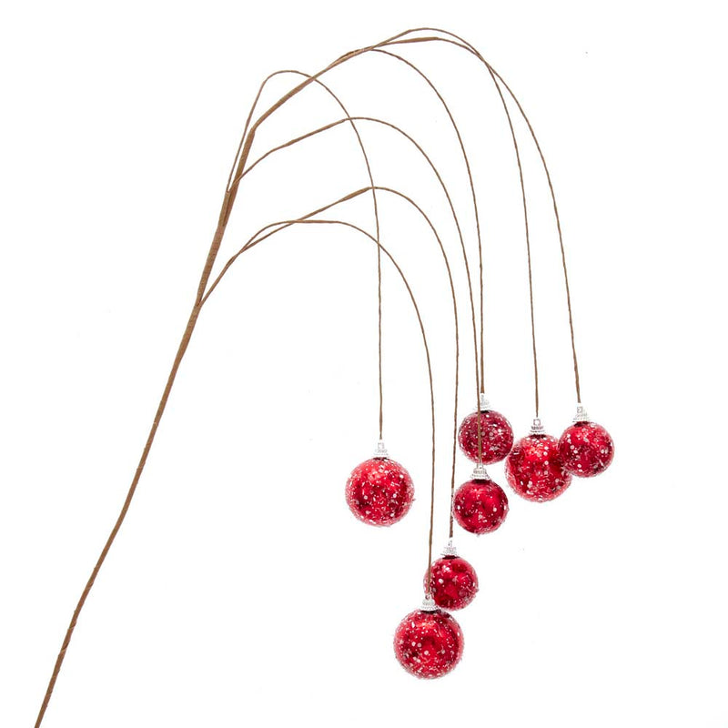 Red Ball Dangling Pick 40""