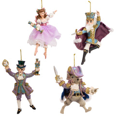 Resin Nutcracker Suite Ornament 6