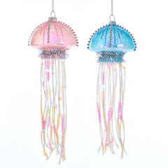 Glass Blue/Pink Jellyfish 5.5