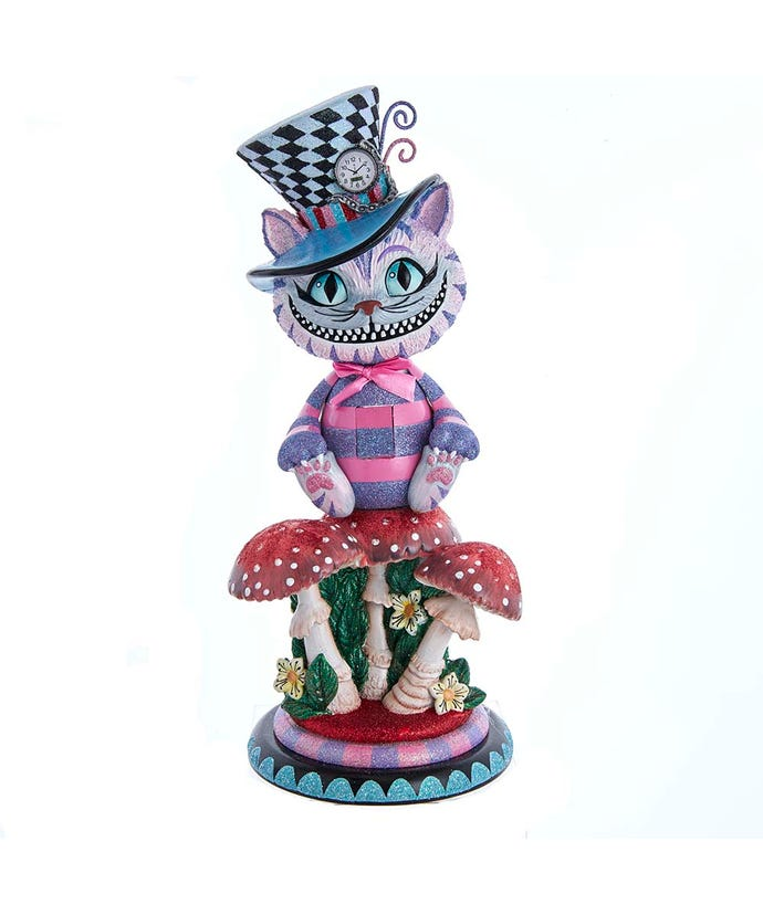 "Hollywood Cheshire Cat Nutcracker, 15""- Pre-order"