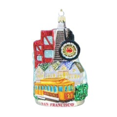 San Francisco City Scape Ornament