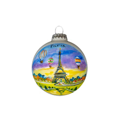 Paris Handpainted Ornament