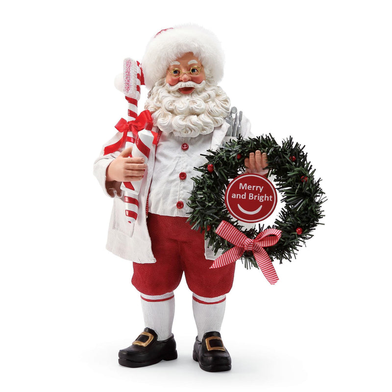 Brite Smile Dentist/Dental Santa, 10.75""