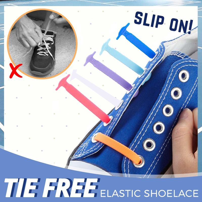 No Tie Elastic Shoelaces (Set of 16)