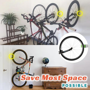 Space-Saving Bicycle Rack