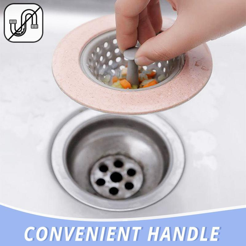 Anti Clog Silicone Sink Strainer