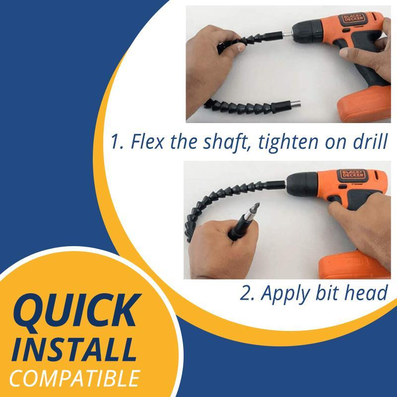 Flexible Drill Extension Kit