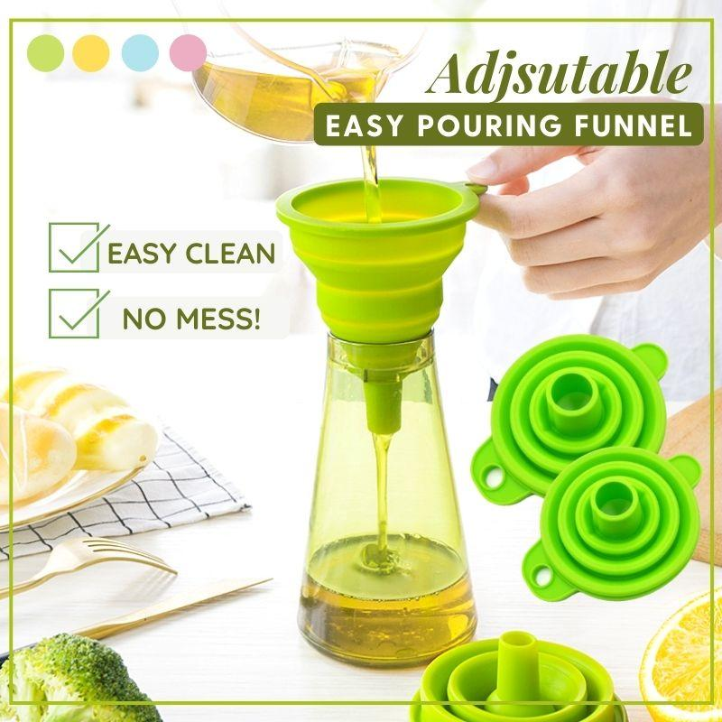 Adjustable Easy Pouring Funnel