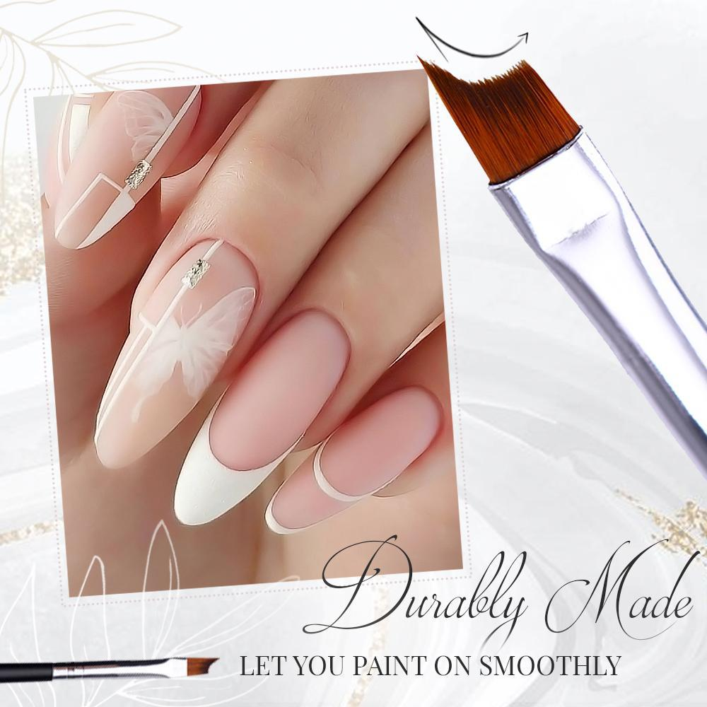 Easy French Nail Brush Set