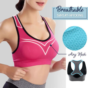 Racerback Full Support Sports Bra