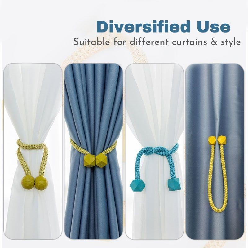 Magnetic Curtain Holder (2 PCS )