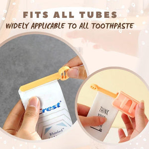 Nail-Free Wall-Mounted Toothpaste Squeezer
