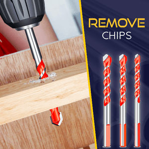 Ultimate Punching Drill Bits Set (4pcs)