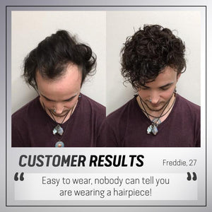Hairadise Men Hair Topper