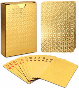 Luxury Diamond Playing Cards LuckCharmer Gold