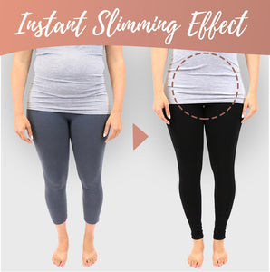 Waist Trimming Compression Thermal Leggings for Curvy