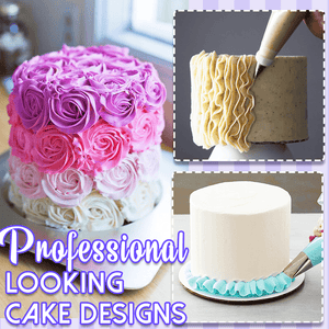 Cake Decorating Practice Set