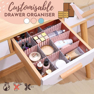 Customisable Drawer Organiser