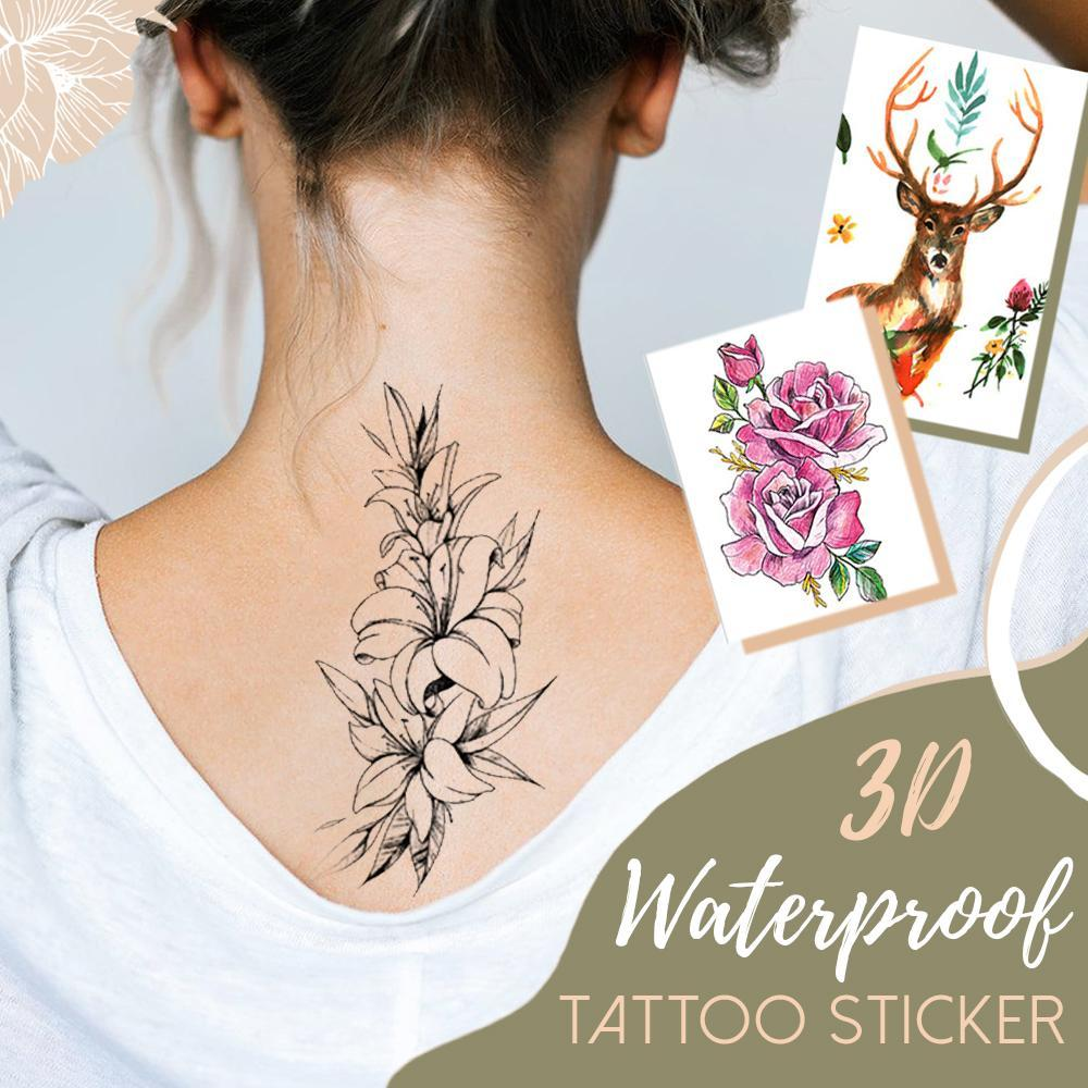Waterproof 3D Tattoo Sticker