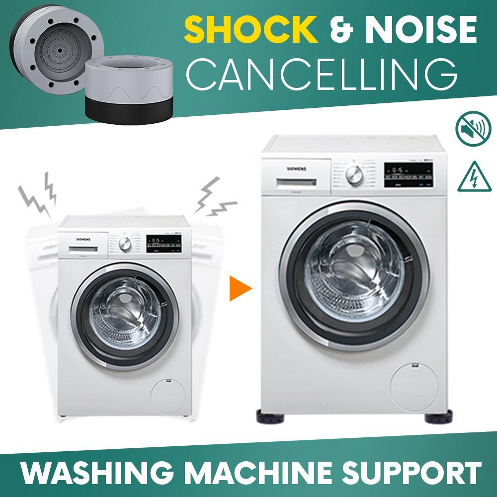 Shock And Noise Cancelling Washing Machine Support (4 PCS)