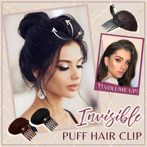Invisible Puff Hair Clip