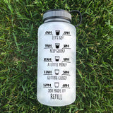 All Things Through Christ Water Bottle | 34oz