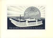 Triumph 1936 Poster for 50th Anniversary