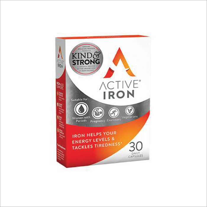 Active Iron - 30 Capsule Pack