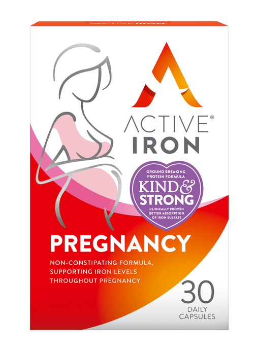 Active Iron Pregnancy - 30 Capsule Pack