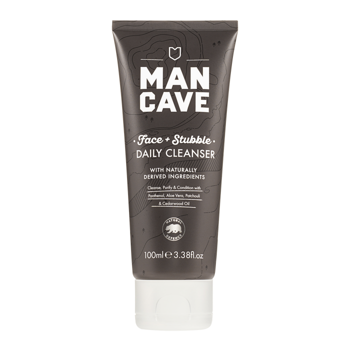 ManCave Face and Stubble Cleanser