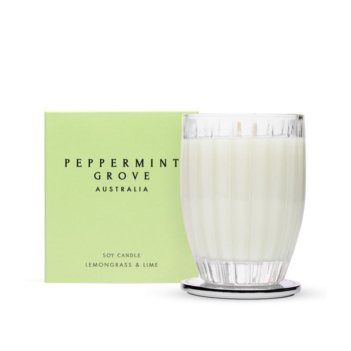 Peppermint Grove Lemongrass & Lime Candle