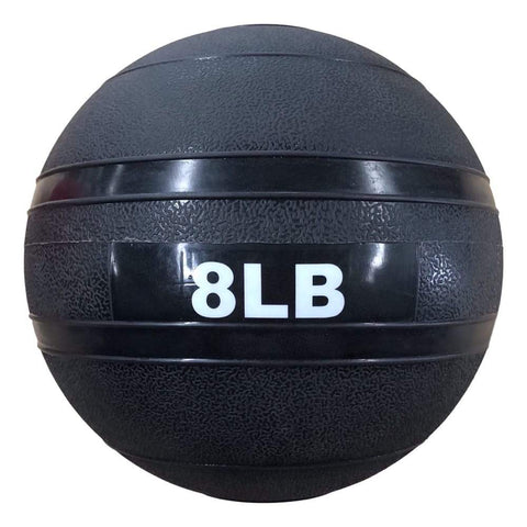 HomeGymVault Free Weights Blue/Black The Abs Company 8 LB Slam Ball Free Weights - Black