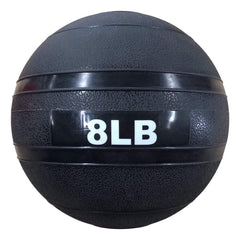 Image of The Abs Company 8 LB Slam Ball Free Weights - Black