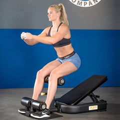The Abs Company X3S™ Pro Ab Boards, Hyperextensions, & Roman Chairs - ABS1009