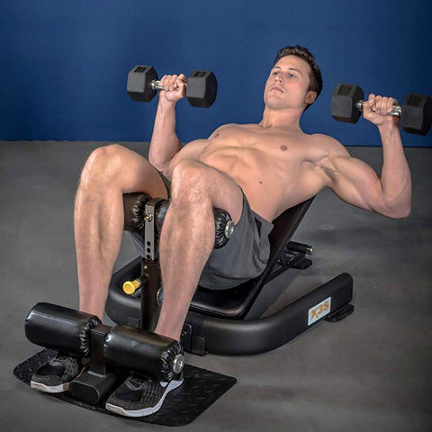 The Abs Company Free Weights The Abs Company X3S™ Pro Ab Boards, Hyperextensions, & Roman Chairs - ABS1009