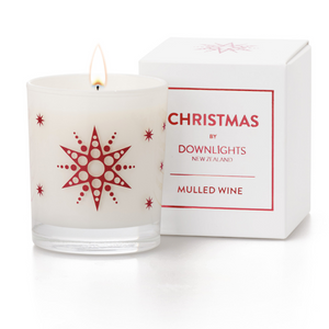 Downlights Candle in Mulled Wine fragrance