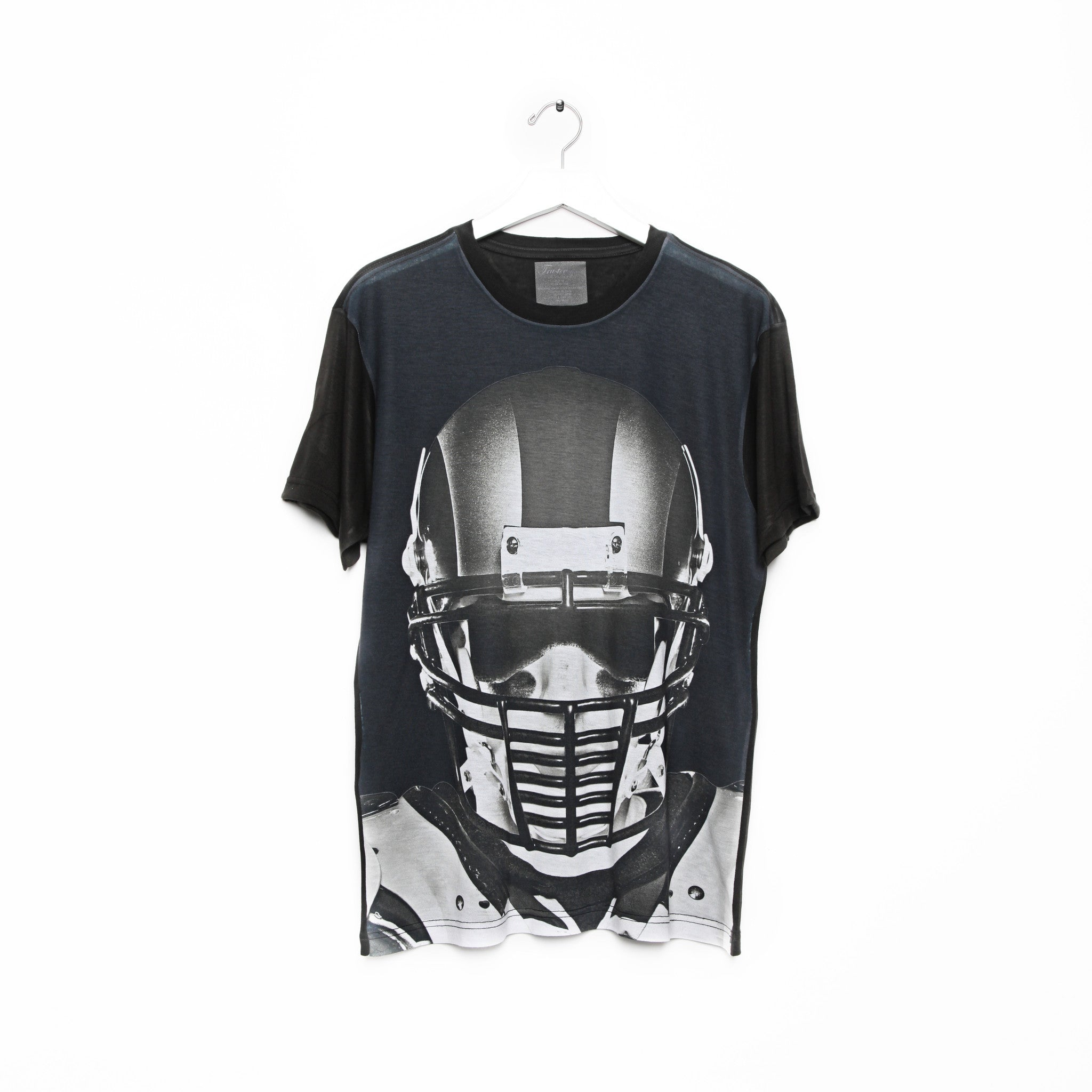 FACE OFF_BLACK TEE