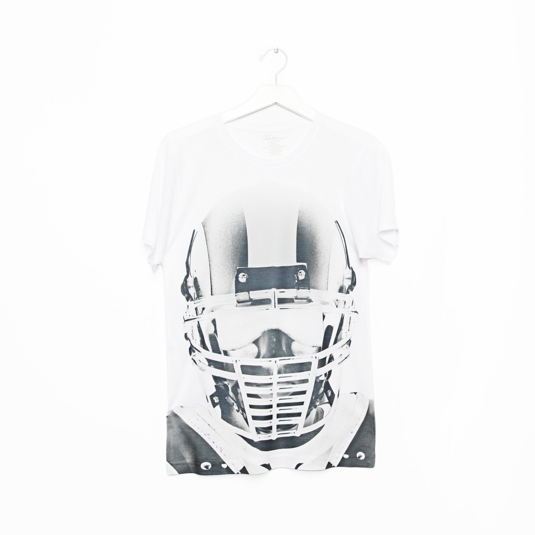 FACE OFF_WHITE TEE