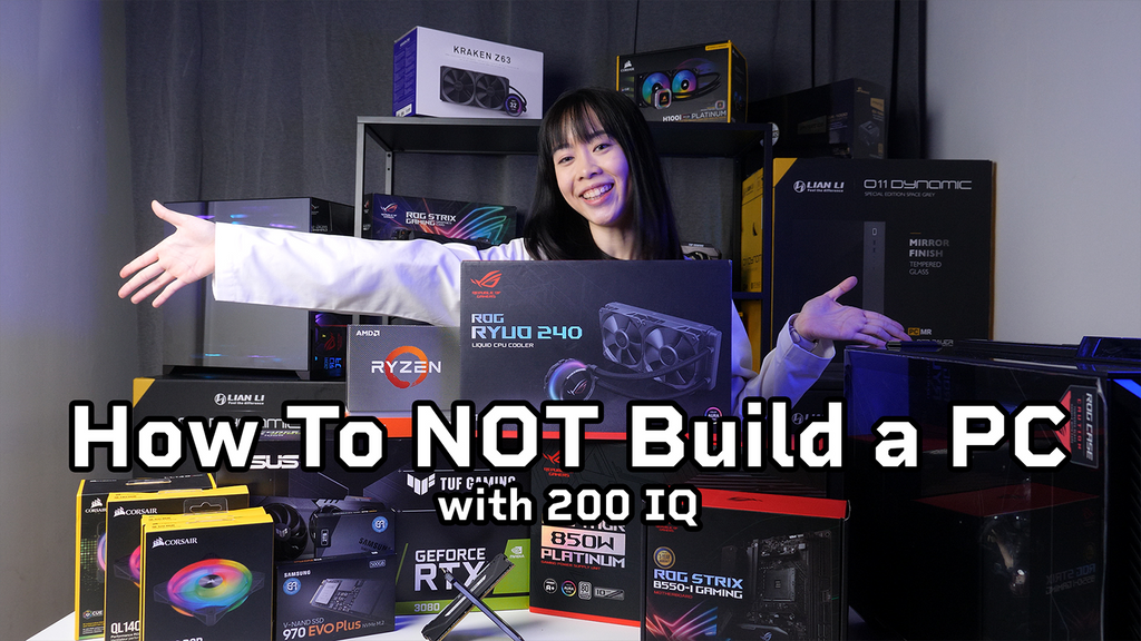How to not Build a PC