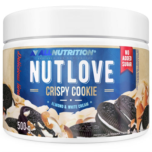 Nutlove Crispy Cookie - Almond & White Cream - sweetfit.co.uk