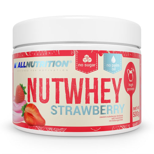 Nutwhey Strawberry - sweetfit.co.uk