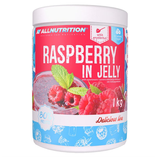 Raspberries in Jelly - sweetfit.co.uk