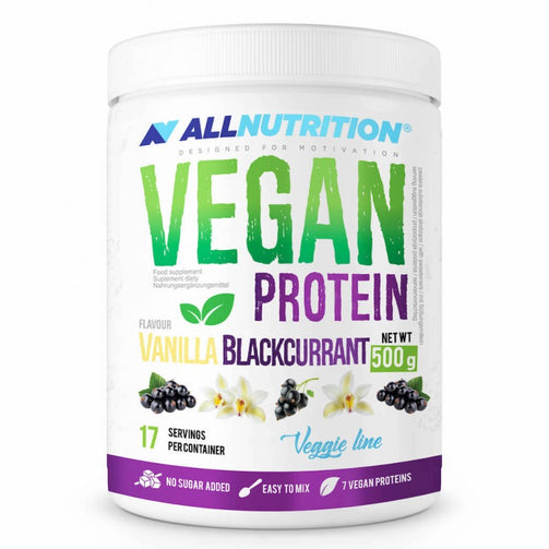 Vanilla Black Currant Vegan Protein Powder - sweetfit.co.uk