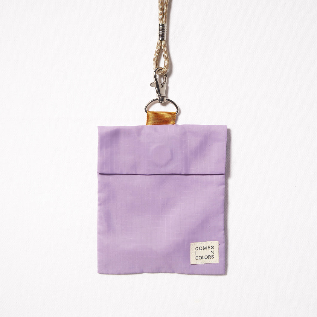 Nylon Mask Bag | Lilac