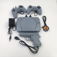 Classic Wired Retro Video Game System AV Output Only and light shooter! All Your Favorite Classic 8bit Games Built In!