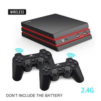 Data Frog Retro Video Game Console With 2.4G Wireless/Wired Gamepads 600+ Games For HDMI